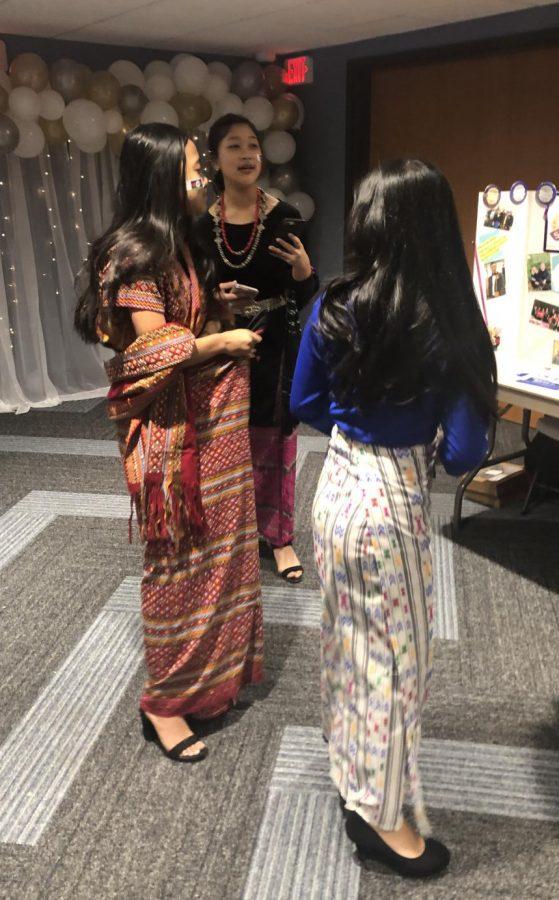 Nunau pawl CND ah Lai thilri an hruh. CND ah Lai thilri piah dingin fashion show a um.
