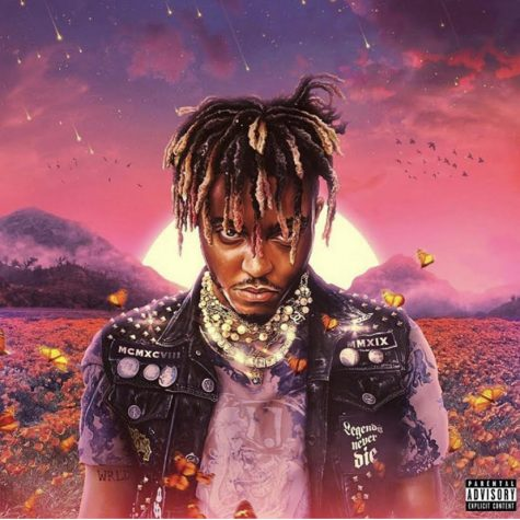 The album cover of Juice Wrld's
