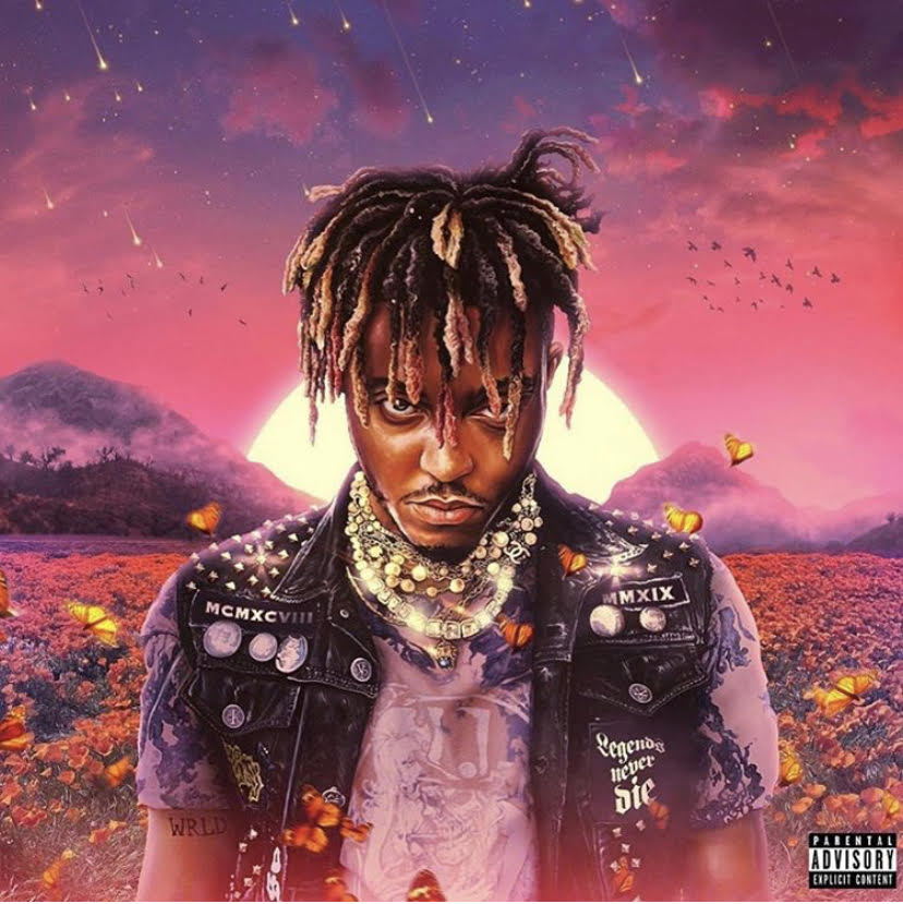 The+album+cover+of+Juice+Wrld%27s+%22Legends+Never+Die%22+was+released+posthumously+after+his+death+on+December+8%2C+2019.