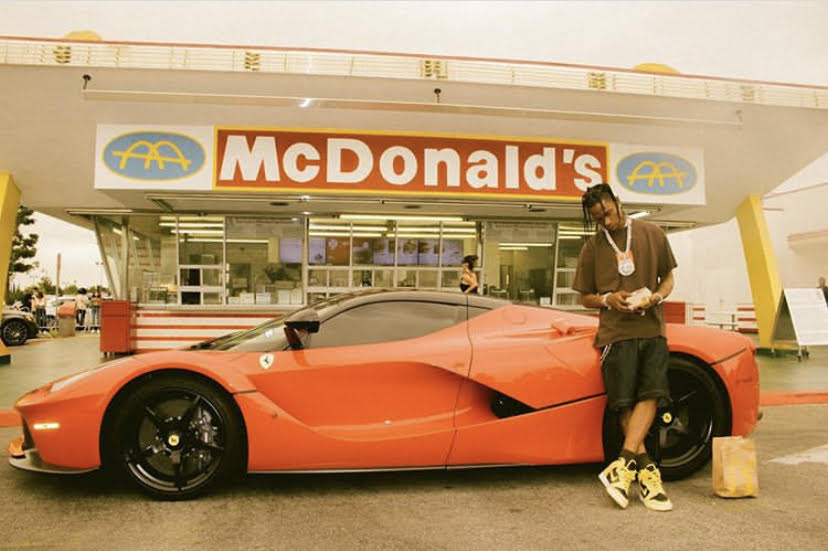 The Travis Scott Meal collaboration at McDonald's started in early September and ends Oct. 4. He is the first celebrity to have a meal collaboration since Michael Jordan.