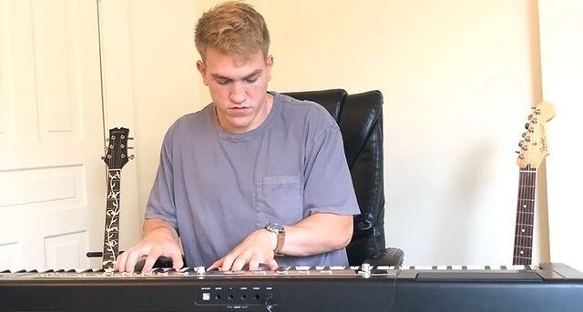 Jason Weaver, who graduated in 2017, taught himself how to play his own instruments while in recovery from ACL surgery. Weaver made the decision not to play sports again and chose to focus more on music.