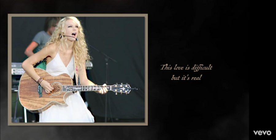 Singer+Taylor+Swift+recently+released+a+re-recorded+version+of+her+2008+hit+song+%22Love+Story.%22+Though+it+is+the+same+song%2C+fans+recognize+a+clear+difference+in+this+version.