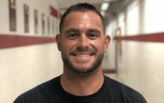 Head football coach Alex Bettag